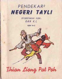 Buku silat antik Gan KL Pendekar Negeri Tayli 2